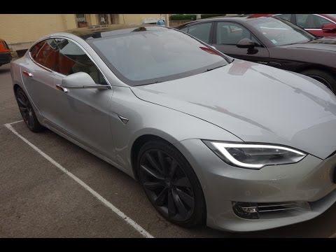 test de la tesla model s 90d youtube. Black Bedroom Furniture Sets. Home Design Ideas