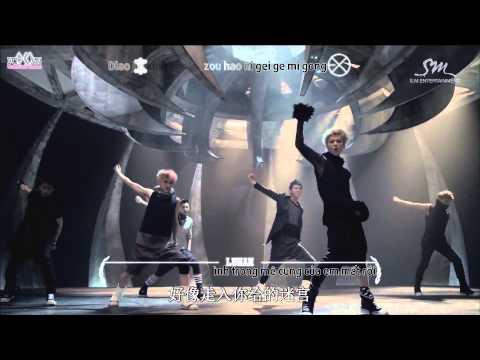 [Vietsub + Kara] EXO _ WOLF Music video (Chinese Ver ) {Ếch ộp subteam}