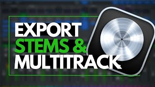 How to Export Stems in Logic Pro X