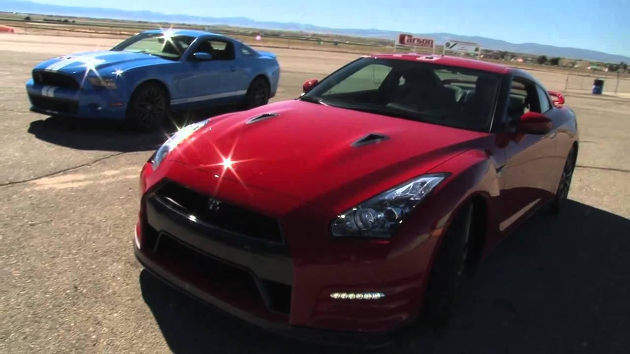 GT-R vs Z06 vs GT500: 5-Figure Supercar Shootout! - YouTube