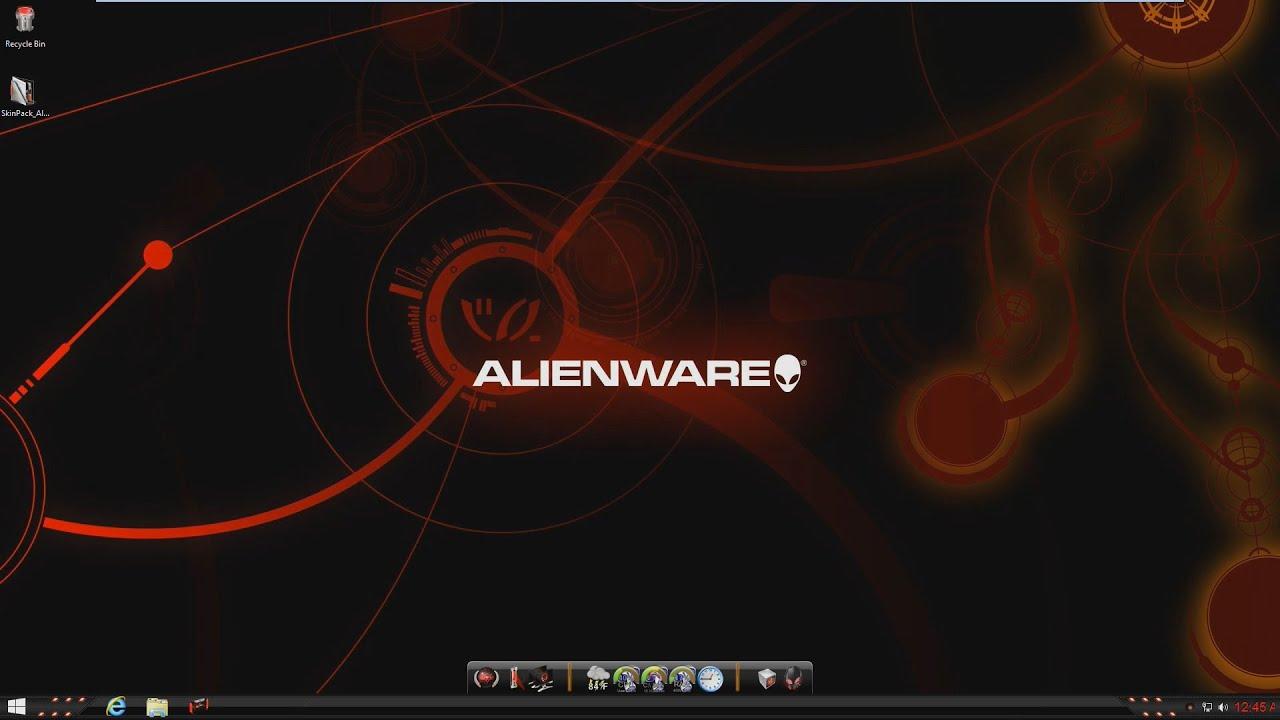 Alienware Red Theme Installer Version 2.0   Alienware ...