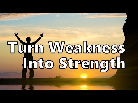 How To Use Your Weaknesses To Discover Your Strengths - YouTube