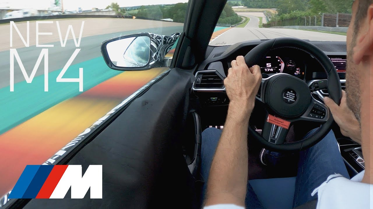THE NEW BMW M4 - Driving at the limits. (G82 2020).