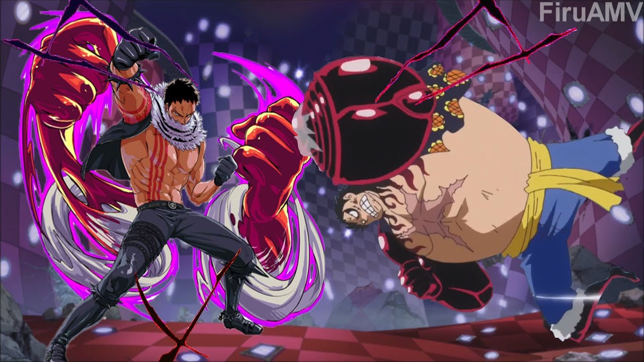Luffy Gear 4 Tattoo: One Piece「AMV」- Luffy Gear 4 Vs. Katakuri / Full Fight