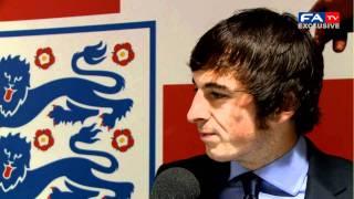 Leighton Baines Post Match Interview - England vs Switzerland 04/06/11