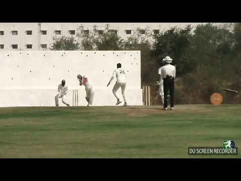 Columbia in hccl 24 ~ 6 balls in 19 runs ..Superb batting by arun