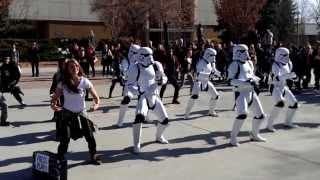 Repeat youtube video Stormtrooper twerk meets BYU
