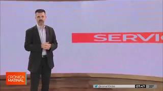 Los Servicios en la Crónica Matinal con Sergio Antoniazzi