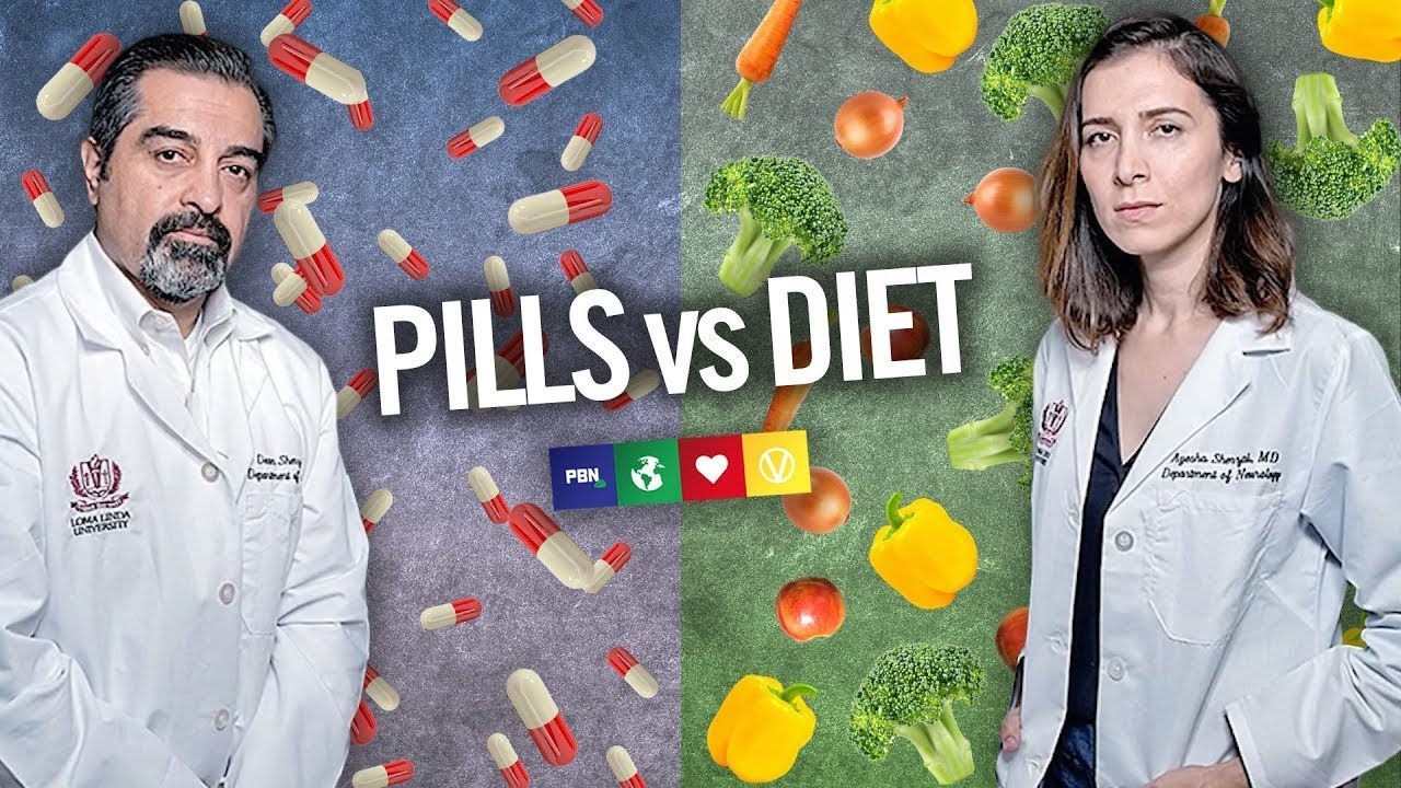 PILLS vs LIFESTYLE MEDICINE: Why Doctors Should Prescribe Diet For Brain Health