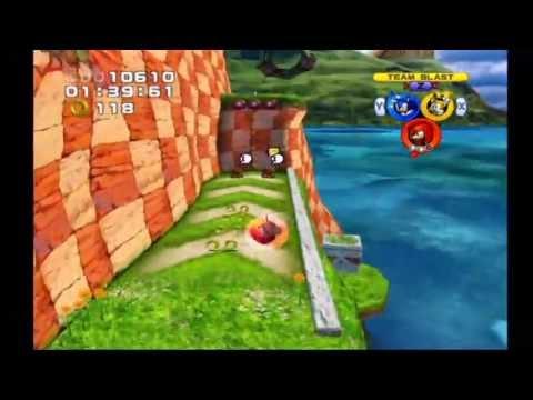 Sonic Heroes: Seaside Hill (Team Sonic)