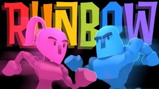 Runbow - Derpy Runners Anonymous - Runbow PC Multiplayer Gameplay Highlights