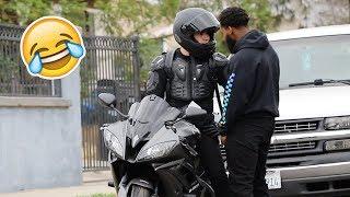 Funniest MOTORCYCLE UBER Prank! (MUST WATCH!)
