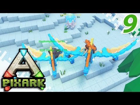 PIXARK (Multiplayer Gameplay) - Ice Bear and Argy Tame With DMac! - EP09
