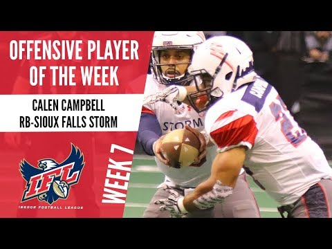 Week 7 Offensive Player of the Week: RB Calen Campbell
