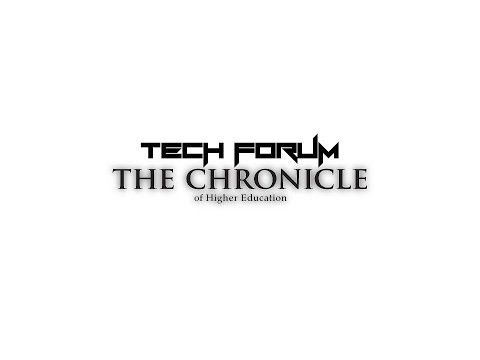 The Chronicle of Higher Education - Tech Forum: Jacques Tech Form #3 GoTo Meeting
