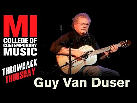 Guy Van Duser Throwback Thursday From The MI Vault 11/29/2005