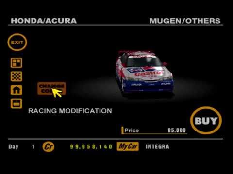 Gran Turismo 1: Racing Modifications Part 7 - Honda