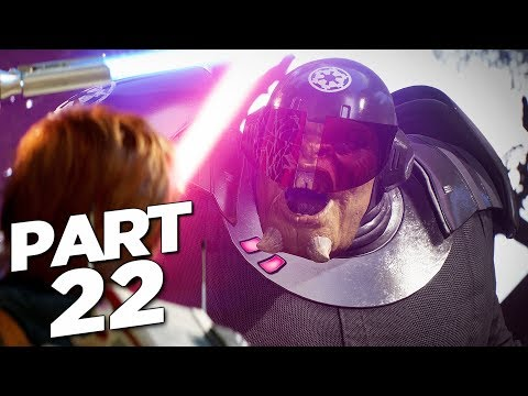 STAR WARS JEDI FALLEN ORDER Walkthrough Gameplay Part 22 - NINTH SISTER BOSS (FULL GAME)
