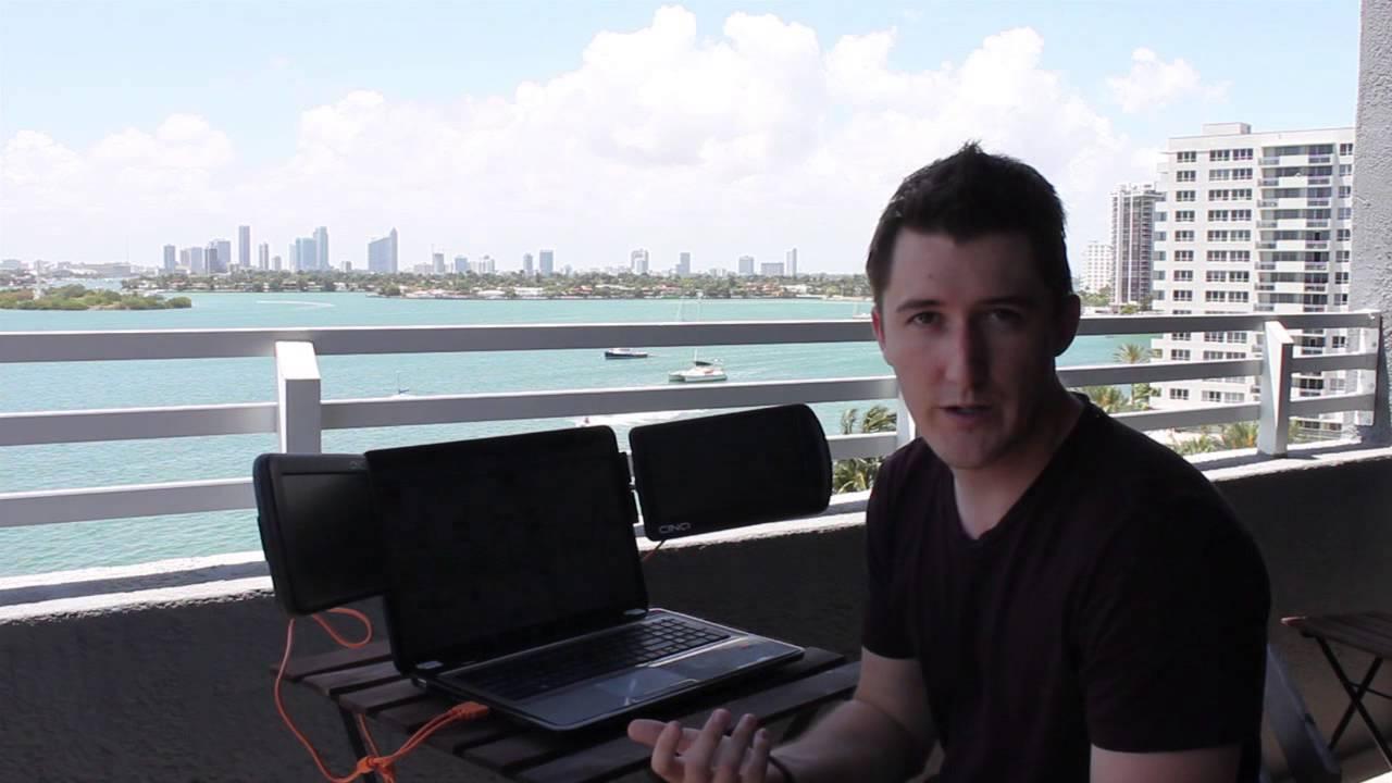 Best MultiMonitor Mobile Day Trading Setup  YouTube