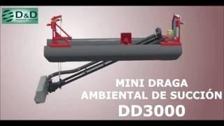Mini Draga de Succión DD3000 - Animación