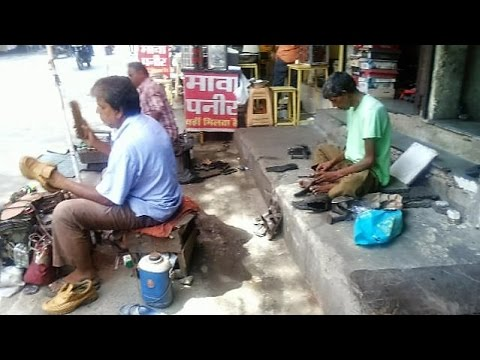 Street Shoe Repair in India - Expert at How to fix broken leather shoe sole