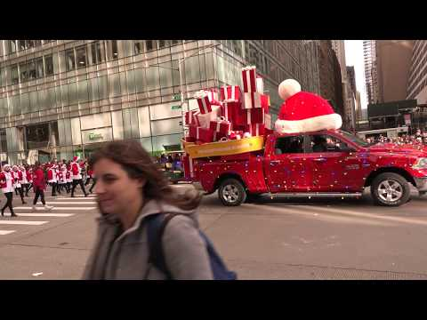 Thanksgiving parade, Macy's NYC 2019 - 동영상