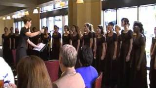 Dr. Phillips High School Chorus Cora Bella sings Psalms for the Soul by Andrea Ramsey
