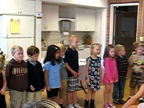 Old Mission School TK Nativity Halloween Poem
