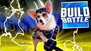 Minecraft: Build Battle - CAT & THOR DOG