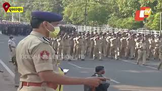Rehearsal For Republic Day Held In Bhubaneswar