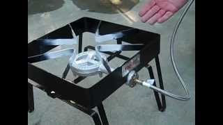 Bayou Classic Square Patio Stove Review