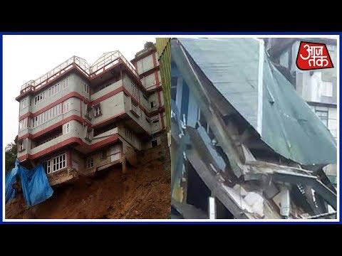 8 killed, 350 Houses Submerged As Flash Floods Ravage Mizoram