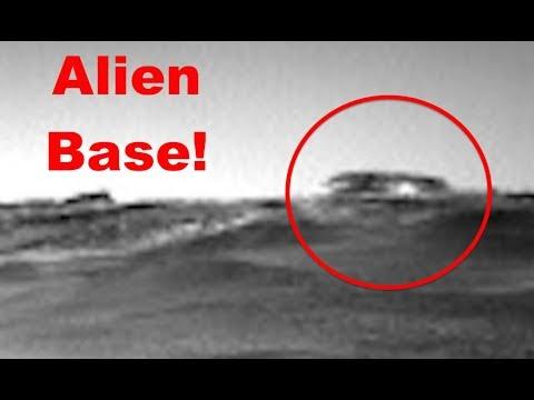 Марсоход обнаружил базу инопланетян
