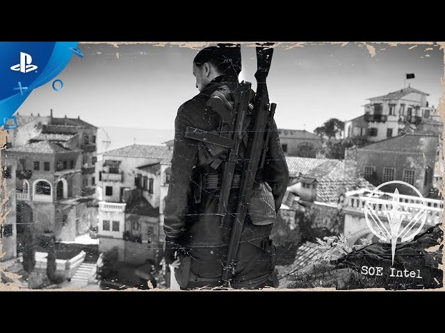 "Sniper Elite 4 - ""Italy 1943"" Story Trailer 