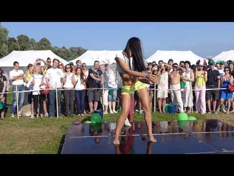 Мокрый конкурс видео