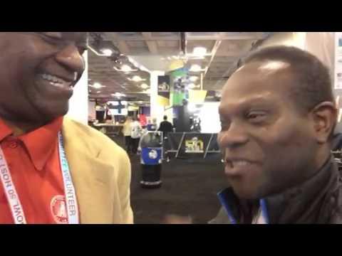 KPIX's Vernon Glenn Brings It To NFL Experience #SB50 - Zennie62