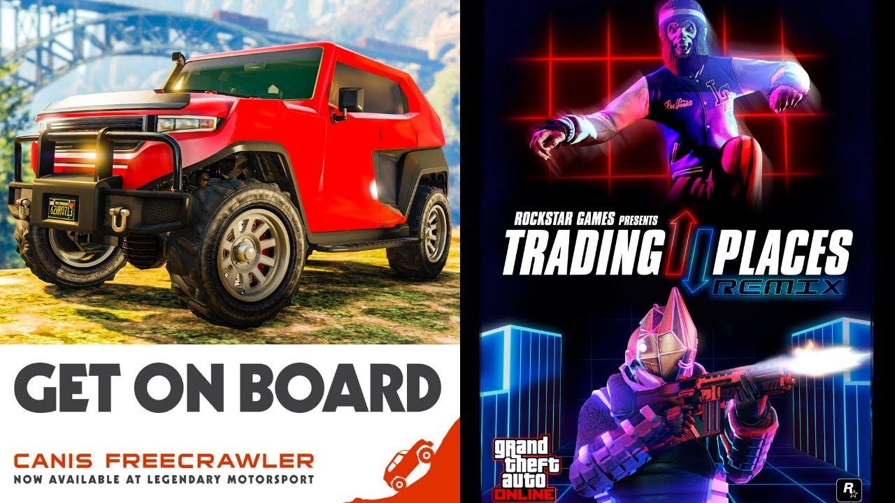 GTA Online Rockstar Newswire 04 09 18 - Canis Freecrawler & End Of Summer  Bonuses