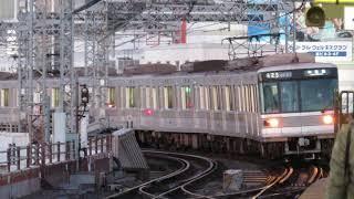 東京メトロ03系 03-102F 南千住駅入線~発車
