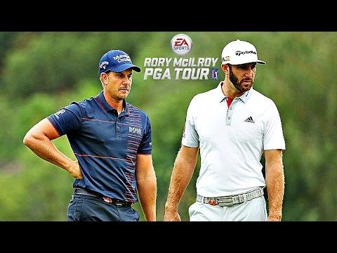 Rory McIlroy PGA Tour Match Play - Stenson vs DJ! (Xbox One Gameplay)