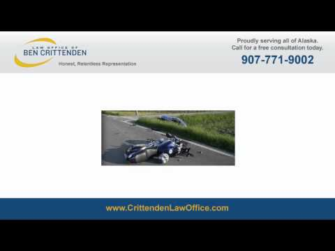 Car or Motorcycle Accident Settlement - Anchorage Alaska Attorney