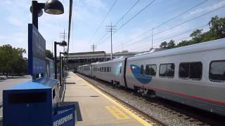 Acela Express Train #2250 in Cos-Cob, CT