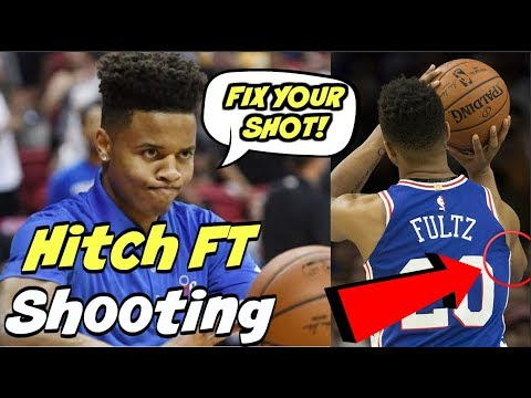 Markelle Fultz's NEW Free Throw SHOOTING FORM - BEFORE And ...
