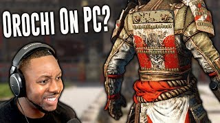 For Honor PC Gameplay - How Is Orochi On PC?
