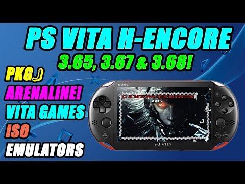 Hencore PS VITA 3.65, 3.67 & 3.68! Install Vita Games, ISO, Emulators, Adrenaline, PKGJ, NonPdrm!