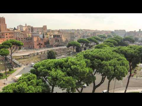 One day in Rome - Timelapse 2014