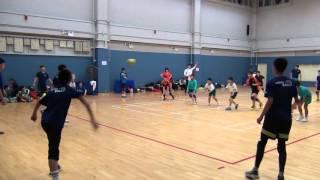 閃避球練習賽 教院賽小對Legend 男子組第一場