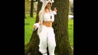 White Satyr Faun costume - Elf Fantasy Fair 2012