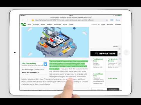PDF Markup Cloud/Ultimate - Highlight web pages via built-in browser (iPad)