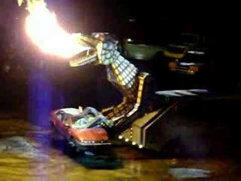 how to make a fire breathing dragon