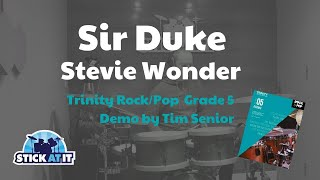 Sir Duke - Trinity Rock/Pop Grade 5 - Drums